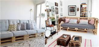 canapé diy meubles en palettes de bois comment faire un bon canapé