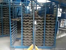 best automatic clay tile press machine clay roof tile