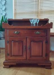 Ethan Allen Dry Sink by Tell City Young Republic Hard Rock Maple Dry Sink Retro