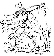 Free Komodo Dragon Coloring Page