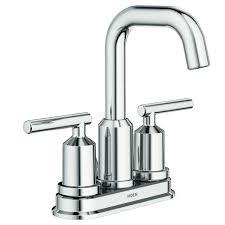 moen gibson two handle 4 centerset bathroom faucet chrome at