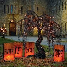 Wicked Warning Luminaries Decoration HOLIDAYS Halloween