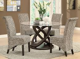 monarch specialties 1749 1789tn 5 piece round dining room set in