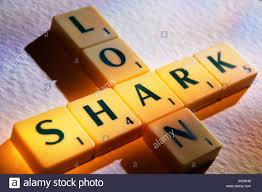 SCRABBLE BOARD GAME LETTERS SPELLING LOAN SHARK