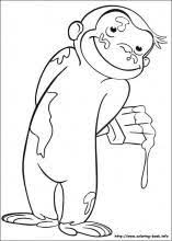 Curious George Coloring Pages 64 Pictures To Print And Color