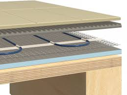 hydronic radiant floor heating design heated concrete floor cost installing radiant heating in existing