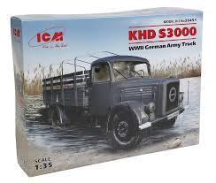 100 German Trucks Amazoncom ICM Models 135 KHD S3000 WWII Army Truck Toys