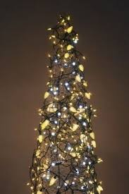 Flagpole Christmas Tree Kit White by Strings Of Lights Turn The Flag Pole Into A Colorful Christmas