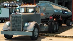 100 Gasoline Truck American Simulator Kenworth 521 With 17 Tons Of Fine Texaco