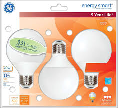 ge lighting 85392 energy smart cfl 11 watt 40 watt replacement