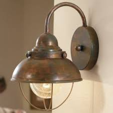 unique lodge rustic country western copper bronze lighting wall
