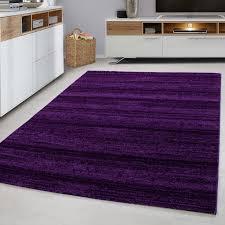 designer wohnzimmer jugendzimmer teppich wandmotiv kariert plus 8000 lila