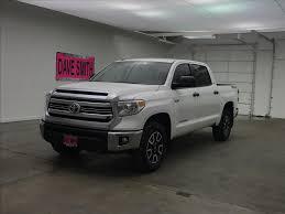 100 Toyota Tundra Trucks Used 2016 SR5 CrewMax Short Box Dave Smith SKU84272XA