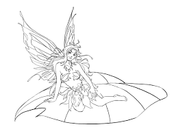 Download Fairies Coloring Pages 10 Print