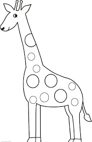 Giraffe Color Pages 13
