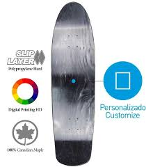 Pintail Longboard Deck Template by Template Skateboards Template Longboards Pro Model Deck
