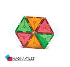 magna tiles 15856 clear colors 56 set toys
