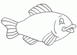 Fish Coloring Pages For Toddlers Coloring4free