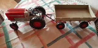 ddr spielzeug blech traktor emka 1 ausführung 1965 1970