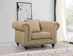 Natuzzi Editions Castello Sofa by Chesterfield Ottoman Multiple Colors Materials By Meridian
