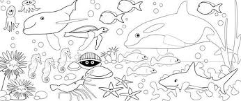 Coloring Pages Of Sea Animals To Print Animal