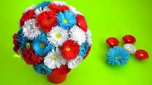 How To Make Paper Flower Bouquet Very Easy