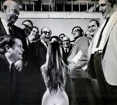 Life Magazine Photo Showing The Team Of Literary Hoaxers