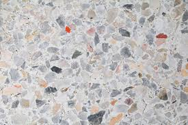 Terrazzo Floor Marble Texture Polished Stone Background Pattern