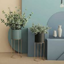 nordic moderne metall schmiedeeisen halterung blumentöpfe blume boden stehen blumen ornamente wohnzimmer home dekorationen künstliche
