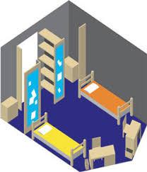 Cal Poly Cerro Vista Floor Plans by Room Layout