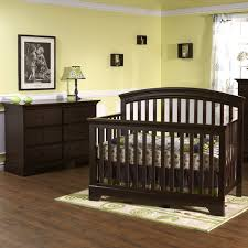 Baby Cache Heritage Dresser by Pali Salerno Collection 2 Piece Nursery Set In Mocacchino Crib