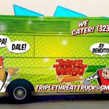100 Alameda Food Trucks The Triple Threat Truck Los Angeles Roaming Hunger
