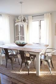 Dining Table Jute Rug Under Dining Table Best 25 Farmhouse