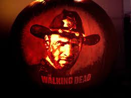 Walking Dead Pumpkin Stencils Free Printable by The Walking Dead Pumpkin Carving Ideas Halloween Radio Site