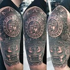 80 Mayan Tattoos For Men