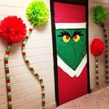 Christmas Office Decorating Ideas For The Door by How The Grinch Stole Christmas Door Decorating Ideas Google