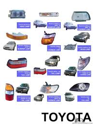 WTS All type of Car Lights in different model City & Vios Fog