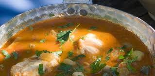 cuisine soupe de poisson soupe de poisson sicilienne facile recette sur cuisine actuelle