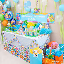 Bubble Guppies Cake Decorating Kit by Bubble Guppies Party Ideas Party City