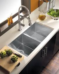 Overmount Double Kitchen Sink by Unique Kitchen Double Sink How To Choose A Kitchen Sink Stainless