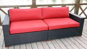 Outdoor Deep Seating Sectional Sofa by Sofas U0026 Loveseats