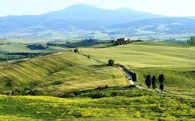 Tuscany Italy Landscape Wallpaper 8k