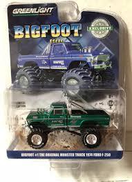 Greenlight Hobby 1974 Ford F250 Bigfoot 4x4 Monster Truck Blue | EBay
