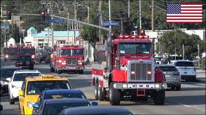Huge Convoys Of Fire Trucks Responding Blasting Horn And Siren ... Fire Engine Responding Scania P280 Pump Youtube Trucks Responding Best Of 2016 Gta V Rescue Mod Brush Houston Fire Department And Ambulance Dtown 2014 German Fire Ambulance Leipzig With Siren And Lights 207 New Zealand Service Auckland City Station Engine 8 Ladder 1 Boston 2 Pumpers The Red Train Hook N To House Fdny Truck 24 On Scene Night Hotel Inside A Volunteer Engines Pike Creek Barn 912