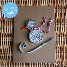 Newspaper Crafts Spirals How To Make Craft Straws From Newspapers CAMRPSGI