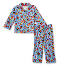 100 Fire Truck Pajamas WonderKids Infant Toddler Boys Pajama Shirt Pants Trucks