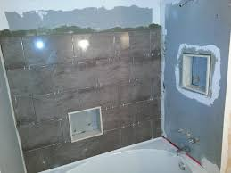 Tiling A Bathtub Surround by A Curved Tub And A Beautiful Tile Tub Surround U2013 Top Notch