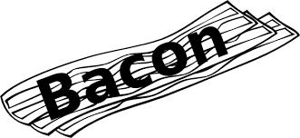 Bacon clipart 4
