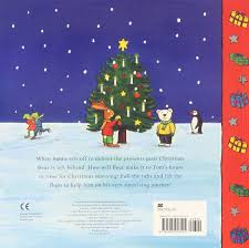 Berenstain Bears Christmas Tree Vhs by The Christmas Bear Tom And Bear Amazon Co Uk Ian Whybrow Axel