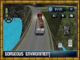 100 Truck Parking Games Driver Simulator 2016 Log Cargo Transporter Truck